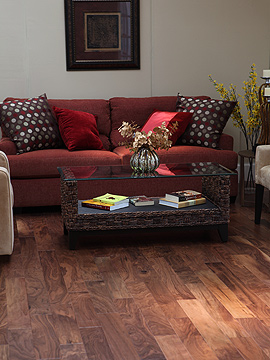 Classic Walnut Locking, Walnut Hardwood flooring